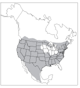 Figure 2. Bobcat range in North America.